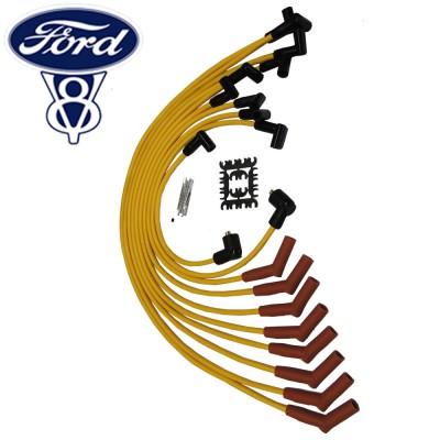 Cabos de vela de silicone de 8,0mm para Ford V8