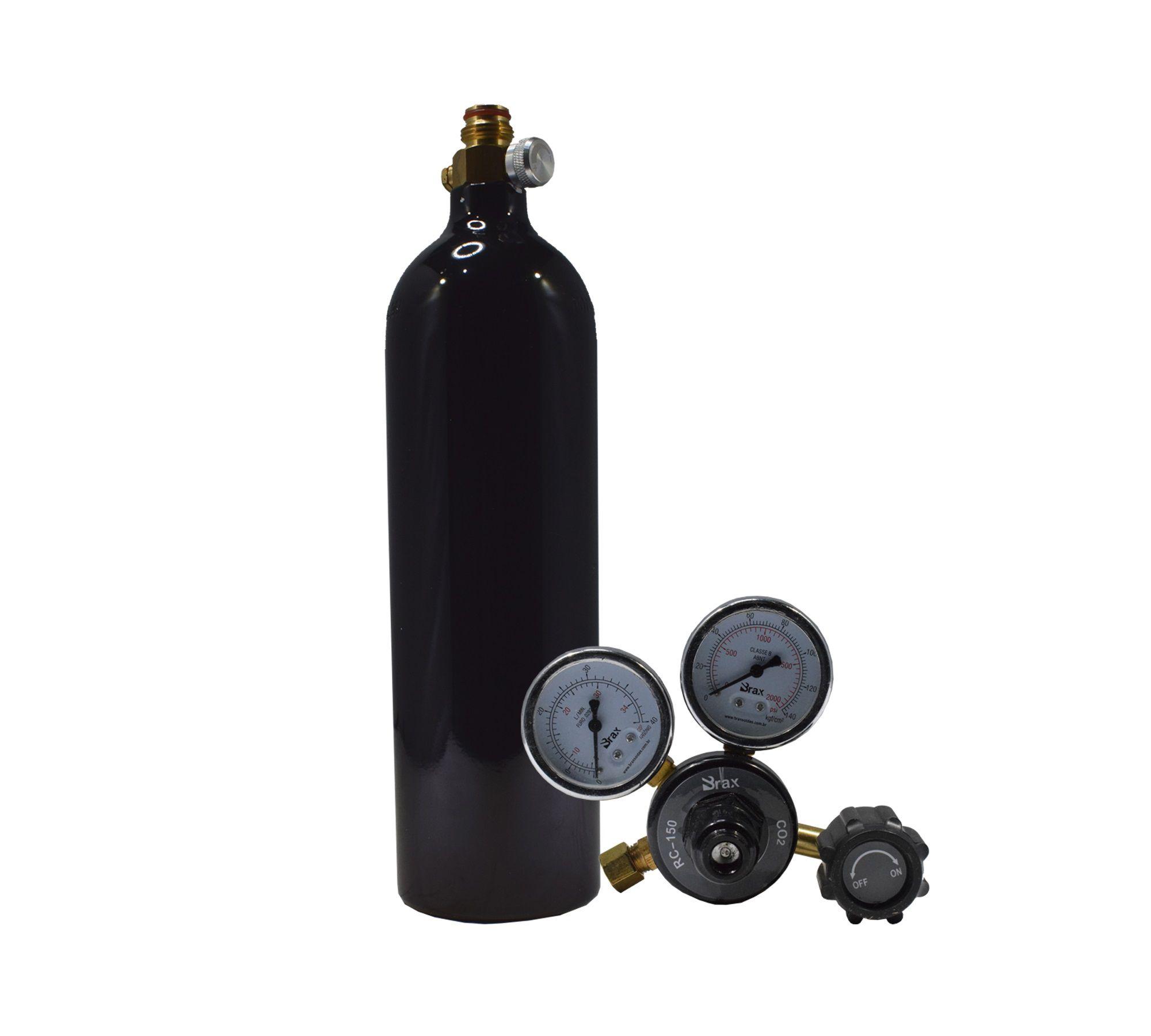 Cilindro Garrafa de CO2