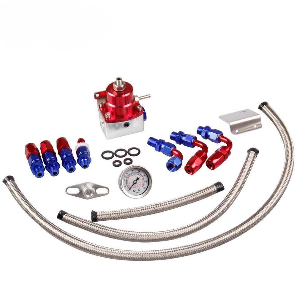 Dosador de Combustível 1:1 para motores injetados em alumínio billet