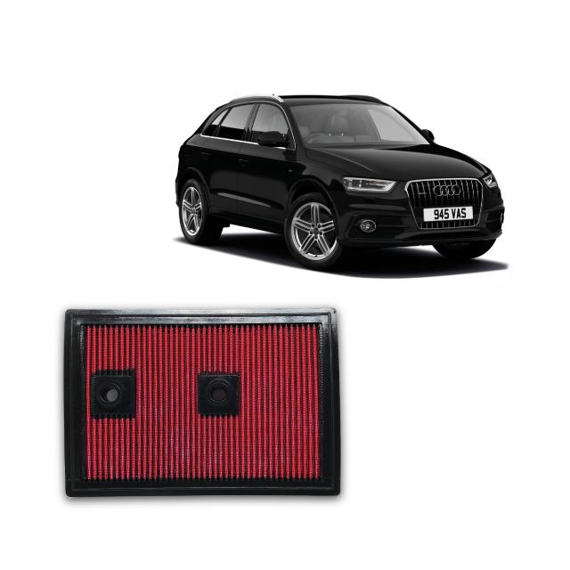 Filtro De Ar Esportivo Inbox Audi Q3 1.4 TFSI 2015 em diante