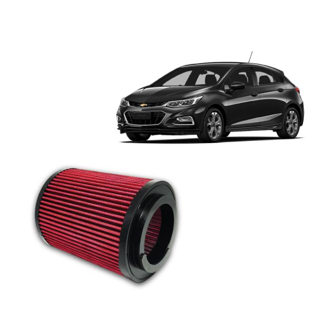 Filtro De Ar Esportivo Inbox GM Cruze 1.4 Turbo