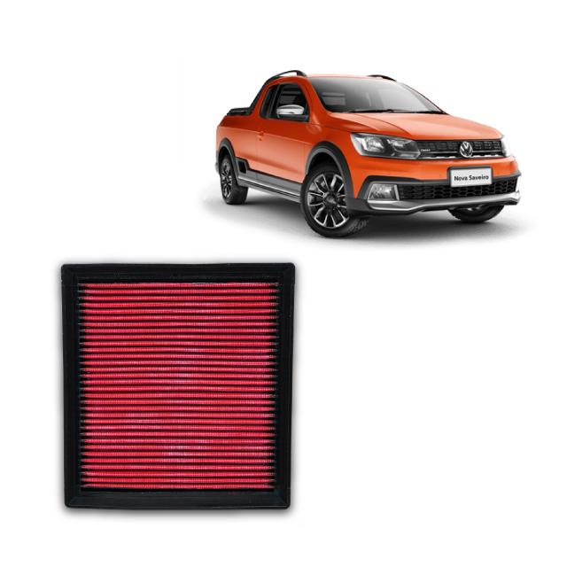 Filtro De Ar Esportivo Inbox VW Saveiro Cross 1.6 MSI 2015 em diante