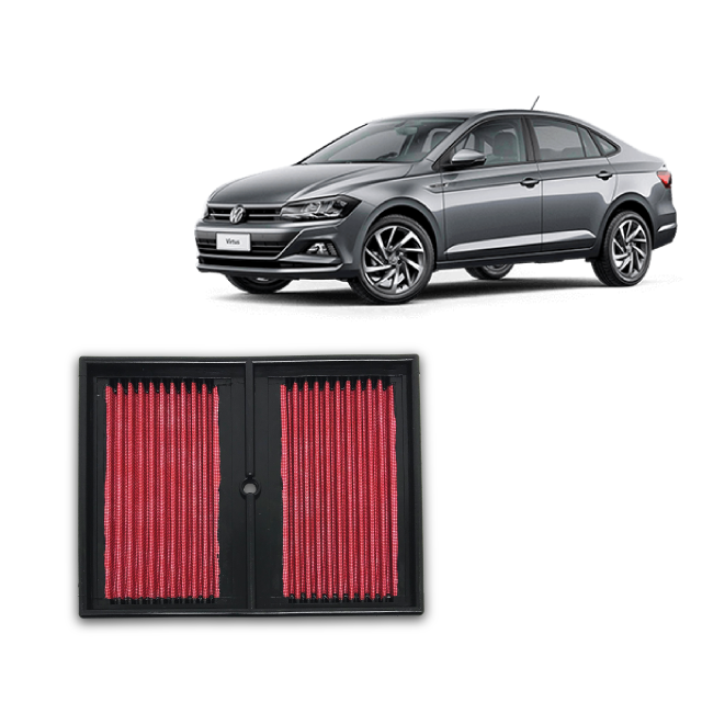 Filtro De Ar Esportivo Inbox VW Virtus 200 TSI ano 2018 em diante