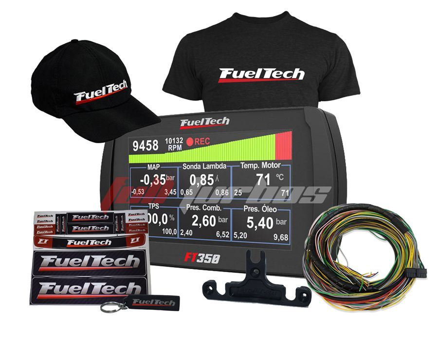 Fueltech FT350 + camiseta  + bone