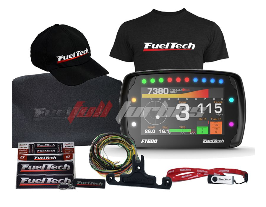 Fueltech FT 600 + camiseta  + bone