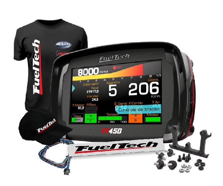 Fueltech FT 450 + Brindes