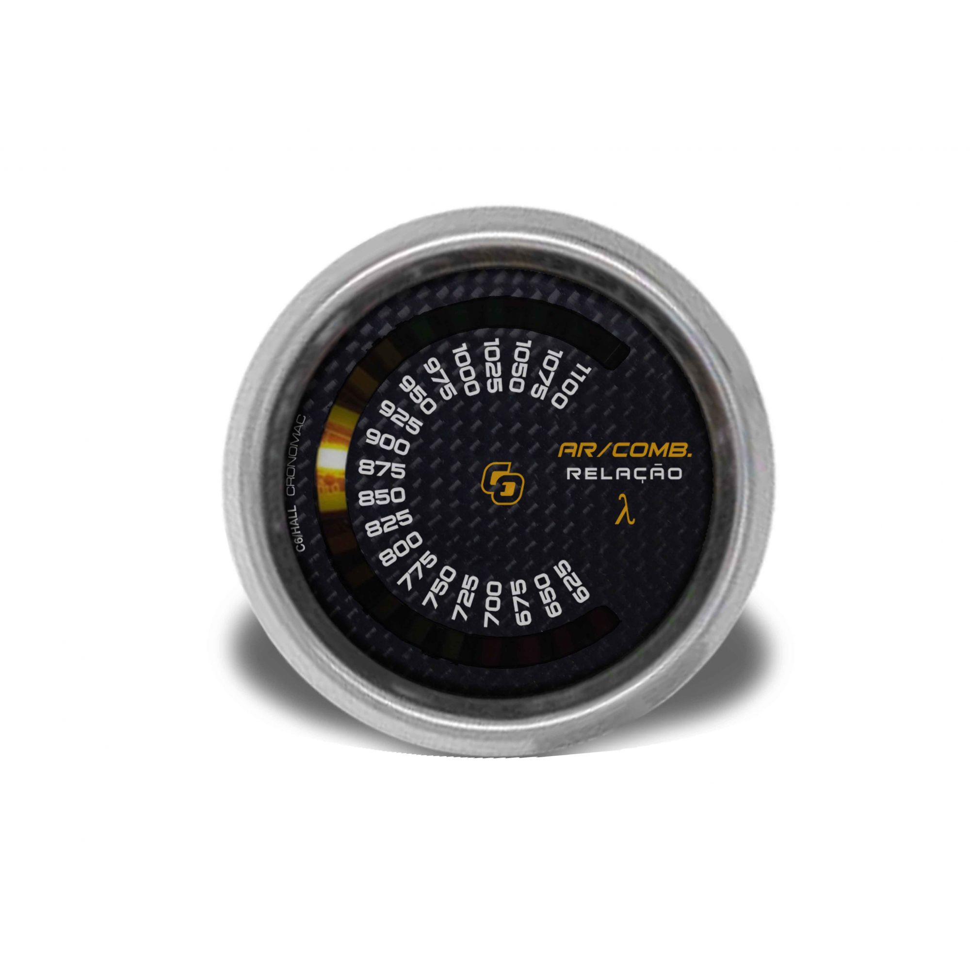 Hallmeter 60mm Escala Carbono - Cronomac
