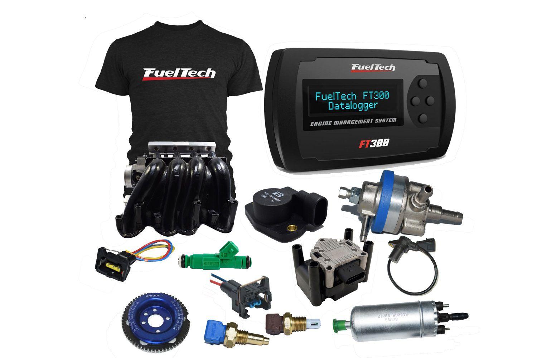 Kit Injeção Vw Ap Completo+fuel Tech Ft 300