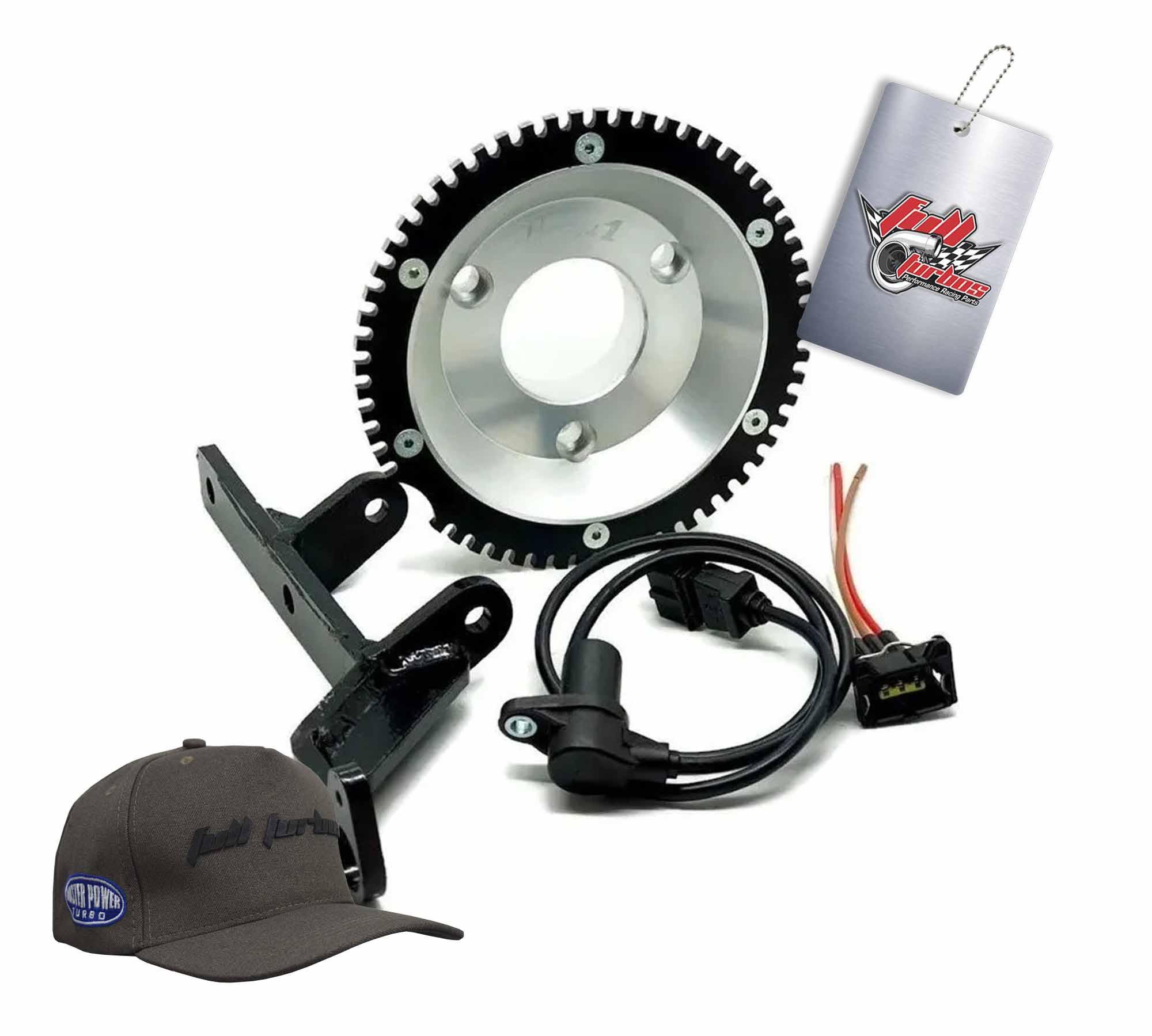 Kit Roda Fônica Opala 4/6cc Inique + Suporte + sensor + conector