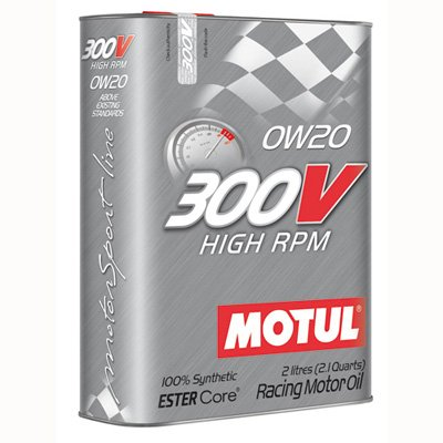 Motul 300V 0w 20 Hight RPM 2L