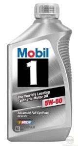 Oleo Mobil 1 5w50