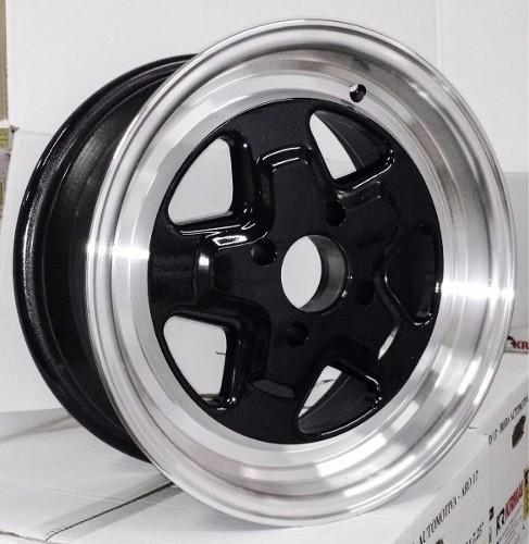 Par Roda Pro Star Novas Tipo Well Furação 4x100 ou 5x114 15 x 4