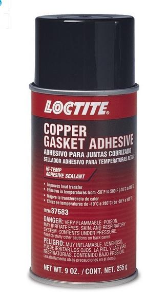 Spray adesivo loctite para juntas cobrizado