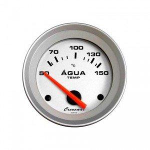 Relogio Termometro Eletrico Agua Linha Racing 52mm