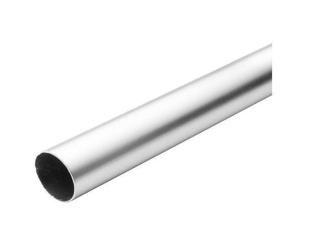 Tubo cano Redondo Alumínio 2,5 Polegada 64,5cm / 2 Polegada 50cm- Bocal C/ 90cm