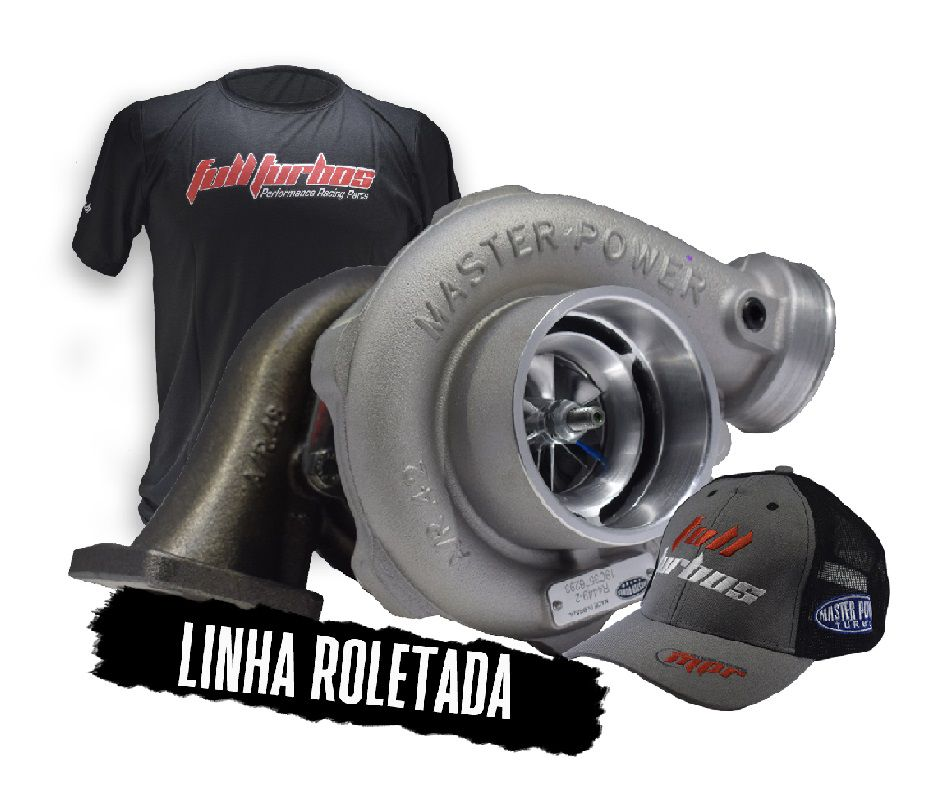 Turbina Roletada / Bearing Master Power - RB 4449 48. Pulsativa (envio 01/08)