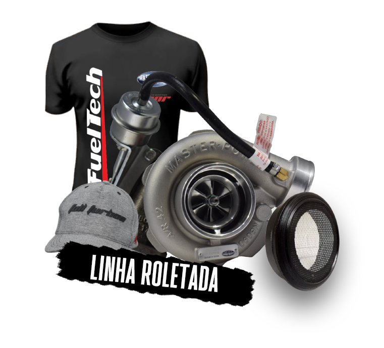 Turbina Roletada / Bearing Master Power - RB 4449 48. Valvulada