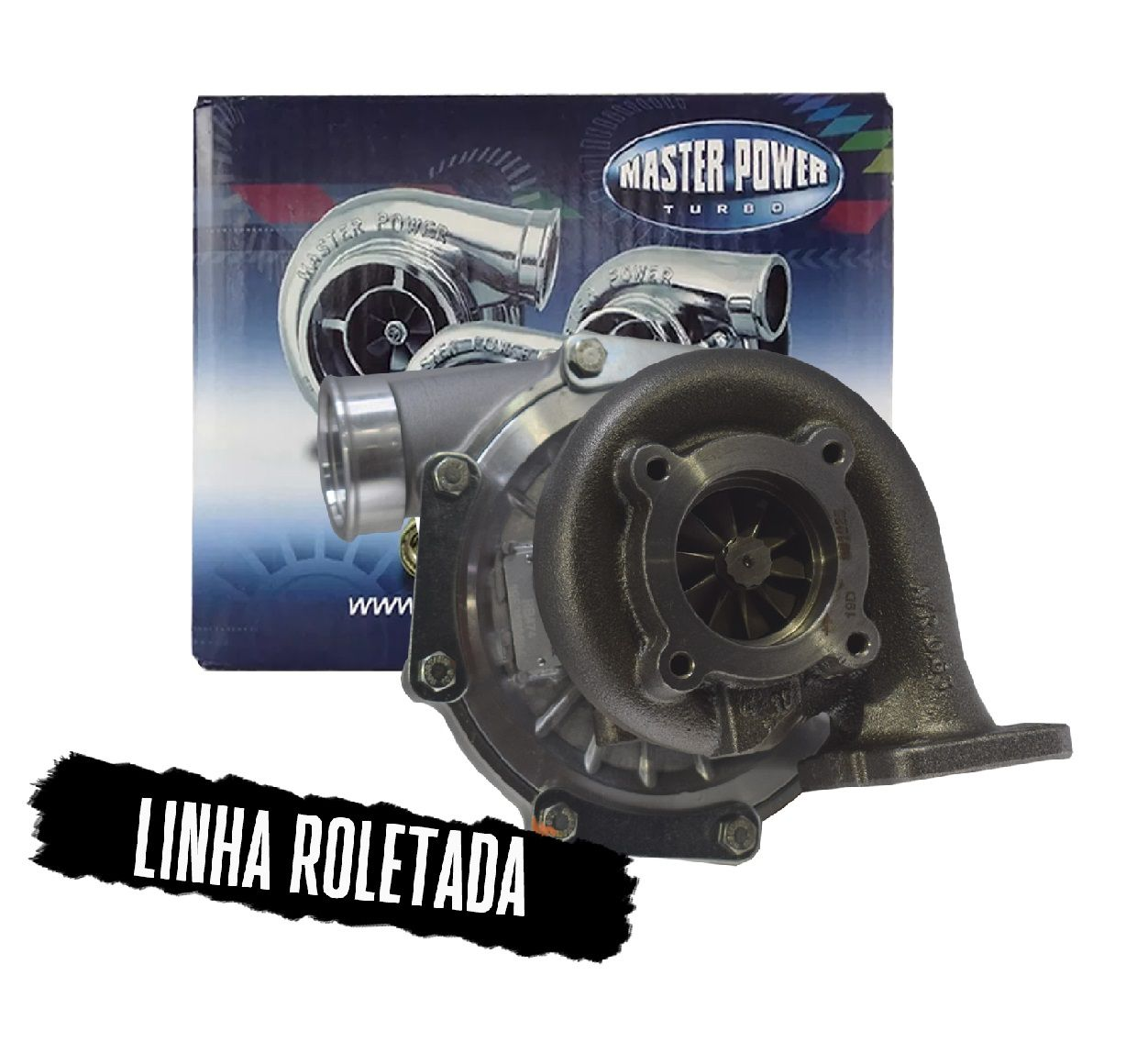 TURBINA ROLETADA / BEARING MASTER POWER - RB 474 .48 PULSATIVA