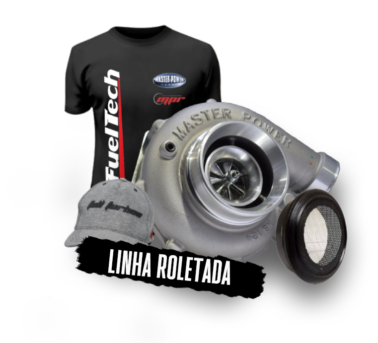 TURBINA ROLETADA / BEARING MASTER POWER - RB 474 .58 PULSATIVA