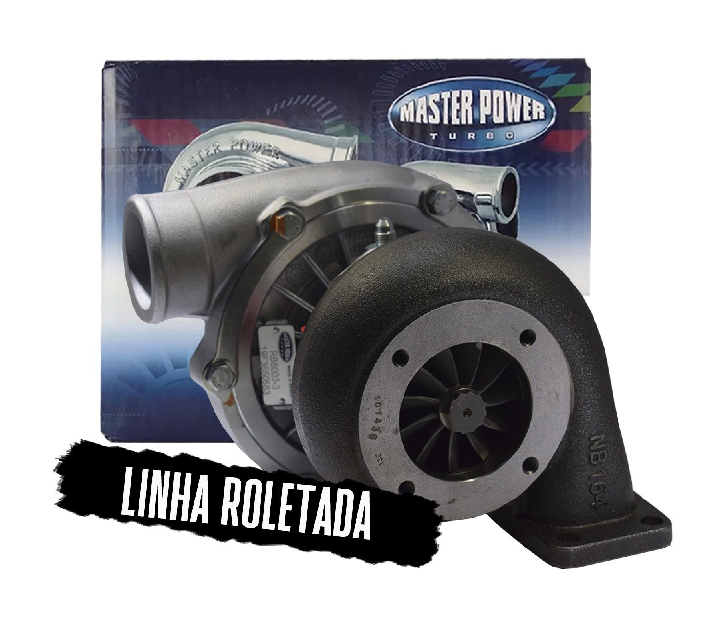 Turbina Roletada /bearing Rb 6003 .94 Mono Master Power