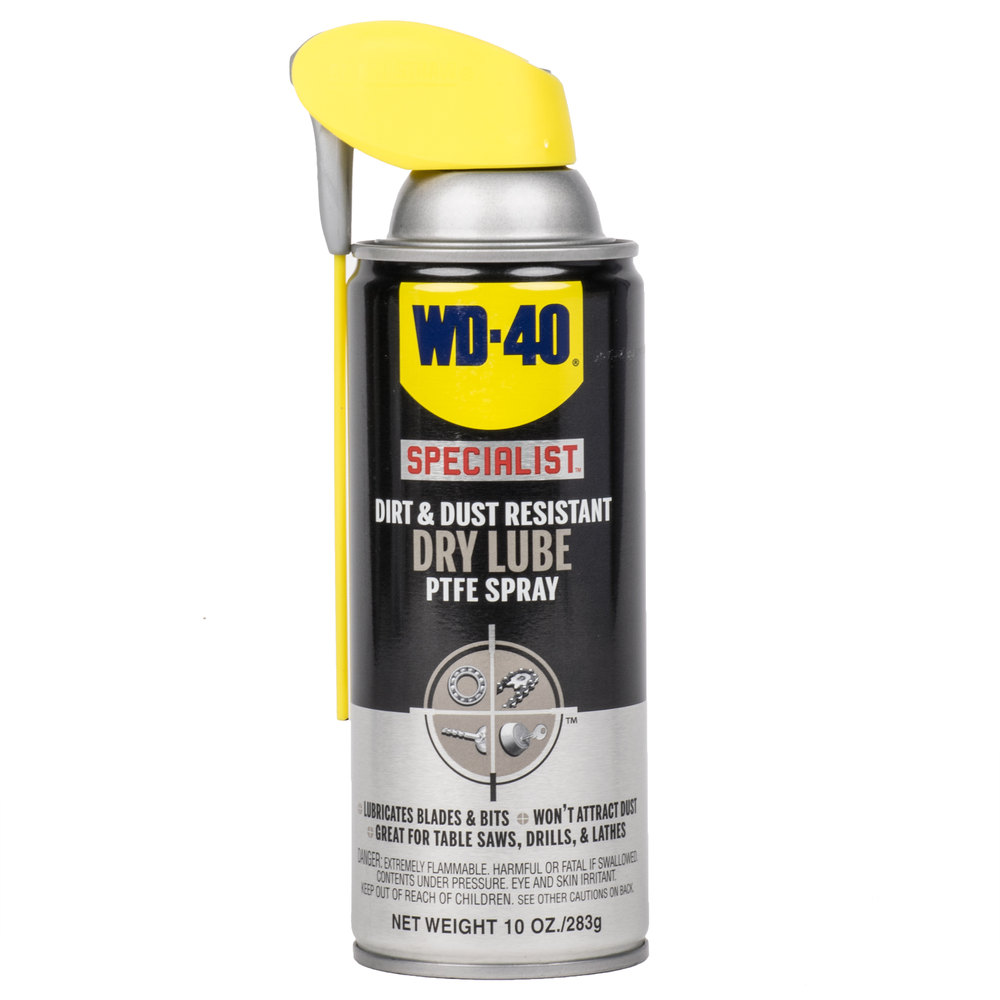 spray WD-40 Dry Lube