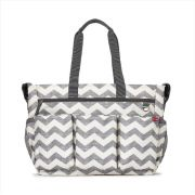 BOLSA MATERNIDADE - DIAPER BAG - DUO DOUBLE SIGNATURE CHEVRON SKIP HOP
