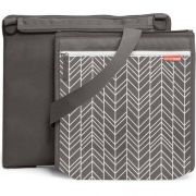 ESTEIRA PARA PIQUENIQUES CENTRAL PARK BLANKET - ON THE GO - GREY FEATHER