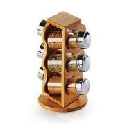 Porta Condimentos em Bambu Salzburgo 7 pçs TE-00873