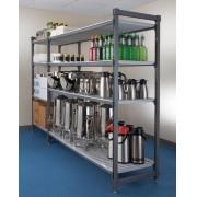 Prateleira Elements Cambro com 4 prateleiras 610X1070X1830 mm