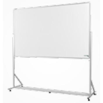 Cavalete Porta Quadro 200x120 cm Alumínio Luxo com Quadro Branco Incluso - Souza 2410