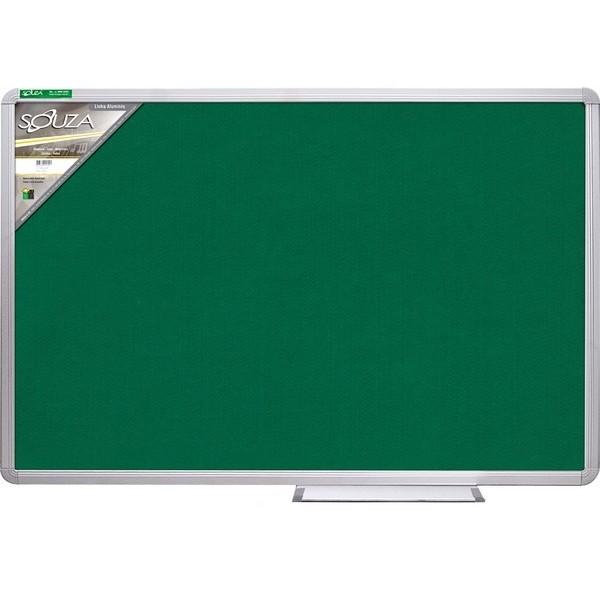 Quadro Verde Standard 120x90cm Moldura Alumínio Luxo - Souza