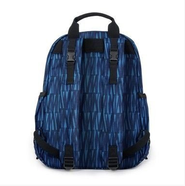 BOLSA MATERNIDADE - DIAPER BAG - DUO SIGNATURE - BACKPACK - MOCHILA - BLUE GRAFFITI SKIP HOP