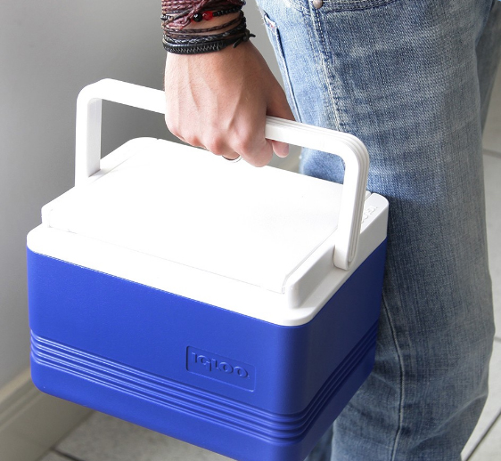 Caixa Térmica Igloo LEGEND 5 QT 4 Litros Azul