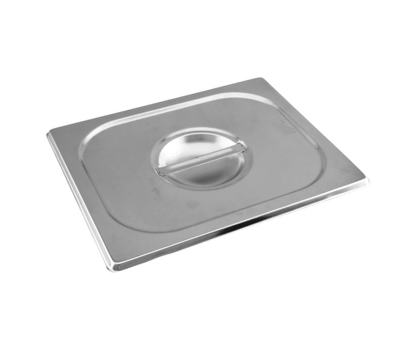 Cuba Gastronômica Inox GN 1/2x150 mm 9,5 L sem alça COM TAMPA