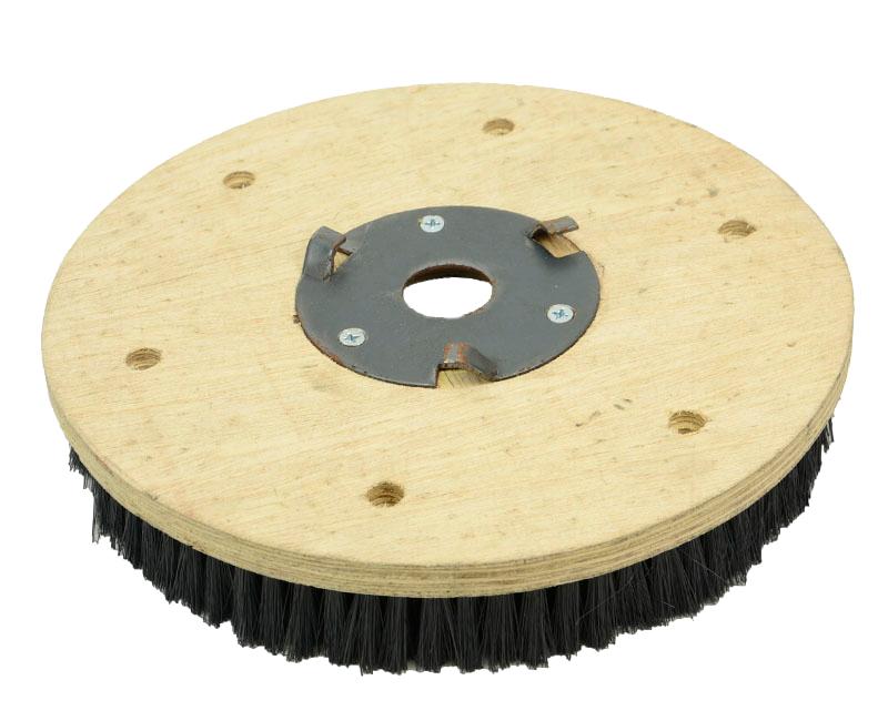 Escova para Lavagem de Carpete COM flange 350 mm para enceradeira Cleaner