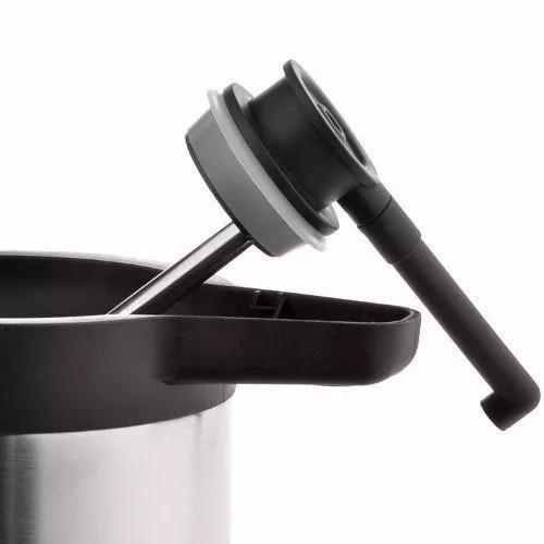 Garrafa Térmica Jarra Inteira Aço Inox Lume Inox 1,9 L