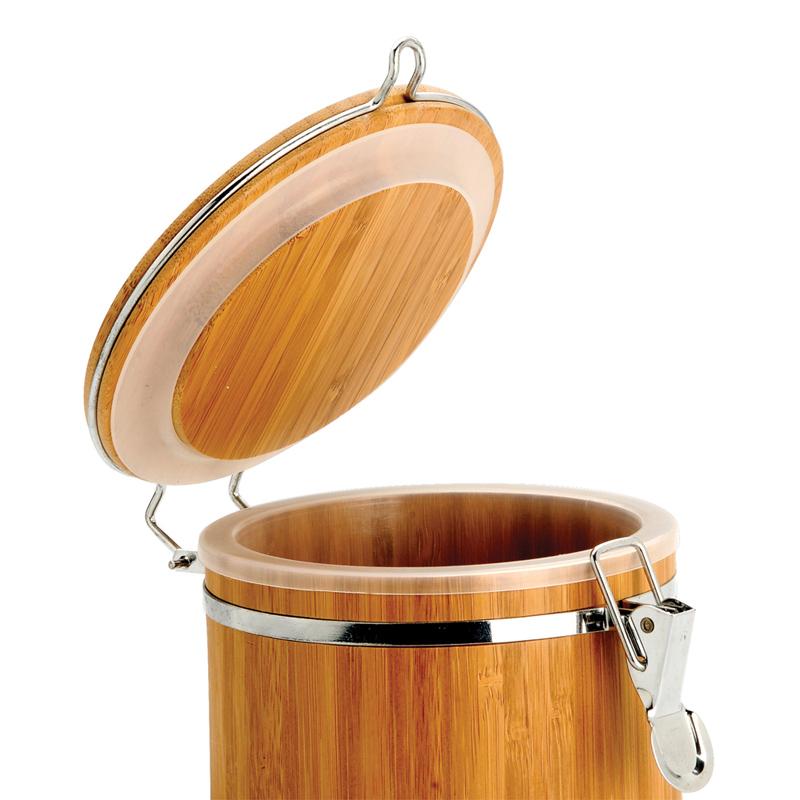 Pote para Mantimentos em Bambu Dubai 0,5 L PO-00703