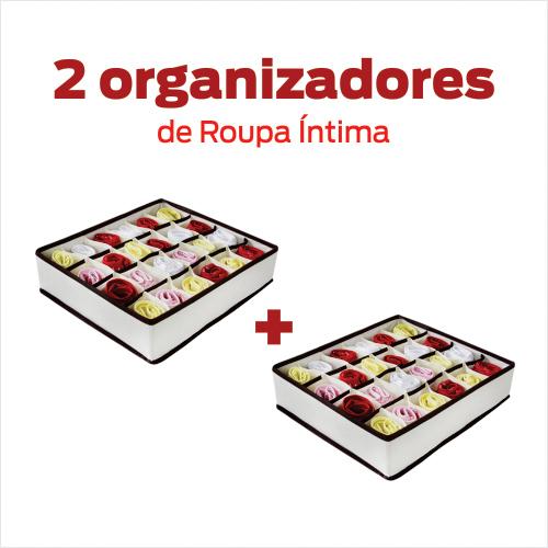 Organizador de Roupa Initma para Gavetas- kit com 2 unids.