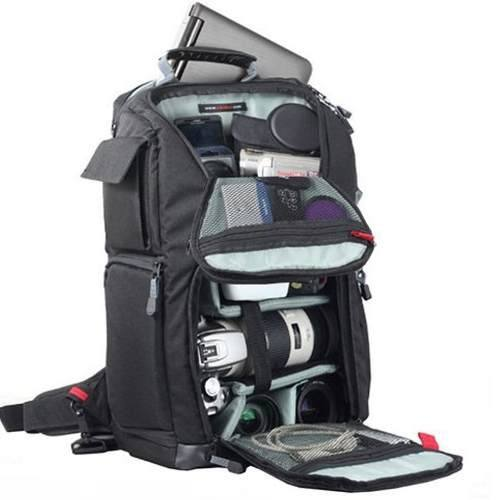 """Mochila Vivitar Para Câmera Digital DSLR, Notebook Com Tela De 15,4"""" E Acessórios - VIVDKS20"""