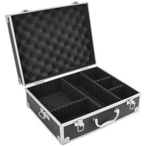 Maleta Vivitar Rígida Com Divisórias Para Câmera Digital DSLR, Filmadora Profissional E Acessórios - VIVVHC1800