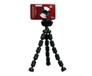 Tripé Vivitar Para Câmera Profissional Flexível Com Altura De 17,8cm - Vivsp6