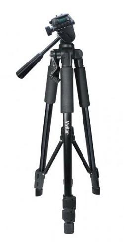 Tripé Para Câmera Profissional Até 1,32m Suporta 1,80 Kg - Vivvpt1252