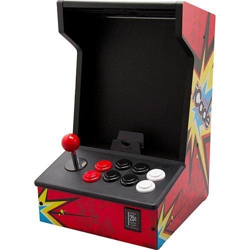 """Cabine ION Com Joystick E 8 Botões Para Jogos Estilo """"Arcade"""" Para IPad ICade"""