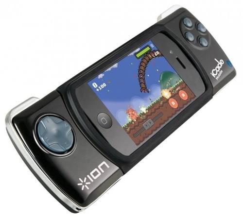 Joystick ION Para IPhone E IPod Touch Via Bluetooh Icade_mobile