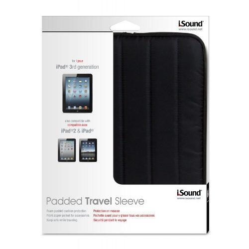 Estojo Isound Acolchoado Para Tablet Compatível Com IPad - ISOUND4727