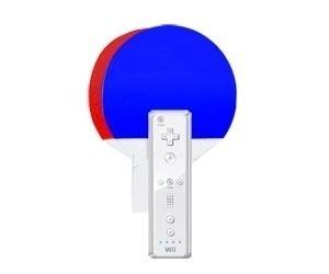 2 Raquetes De Ping Pong Para Nintendo Wii Maximo - WII-408TRU