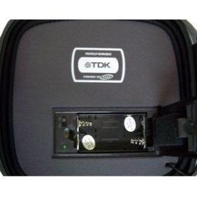 Estojo TDK Porta CDs Com Alto-Falante Mono - PSCDMP12