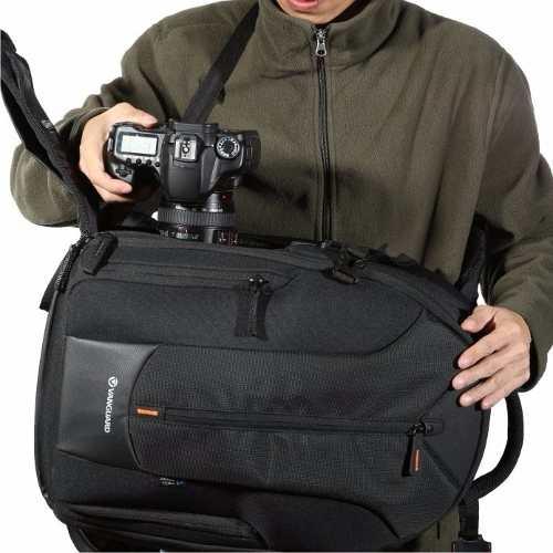 Mochila Vanguard Para Câmera Fotografia E Filmadora E Notebook Sp - UP-RISE 46