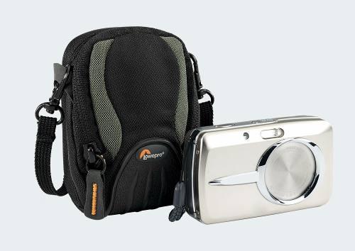 Case Com Capa De Chuva LowePro Para Câmera Compacta Apex 10aw  - Lp34977