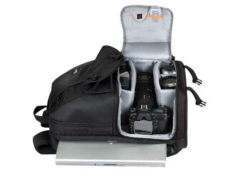 """Mochila LowePro Para Câmera Fotografica Lentes Notebook De Até 15.4"""" Fastpack 250 - LP35194"""